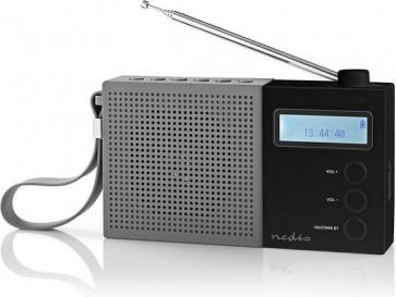 Nedis Digitale DAB+ Radio met klok en wekker @ Dagknaller