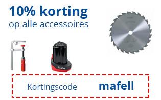 10% korting op Mafell Accessoires