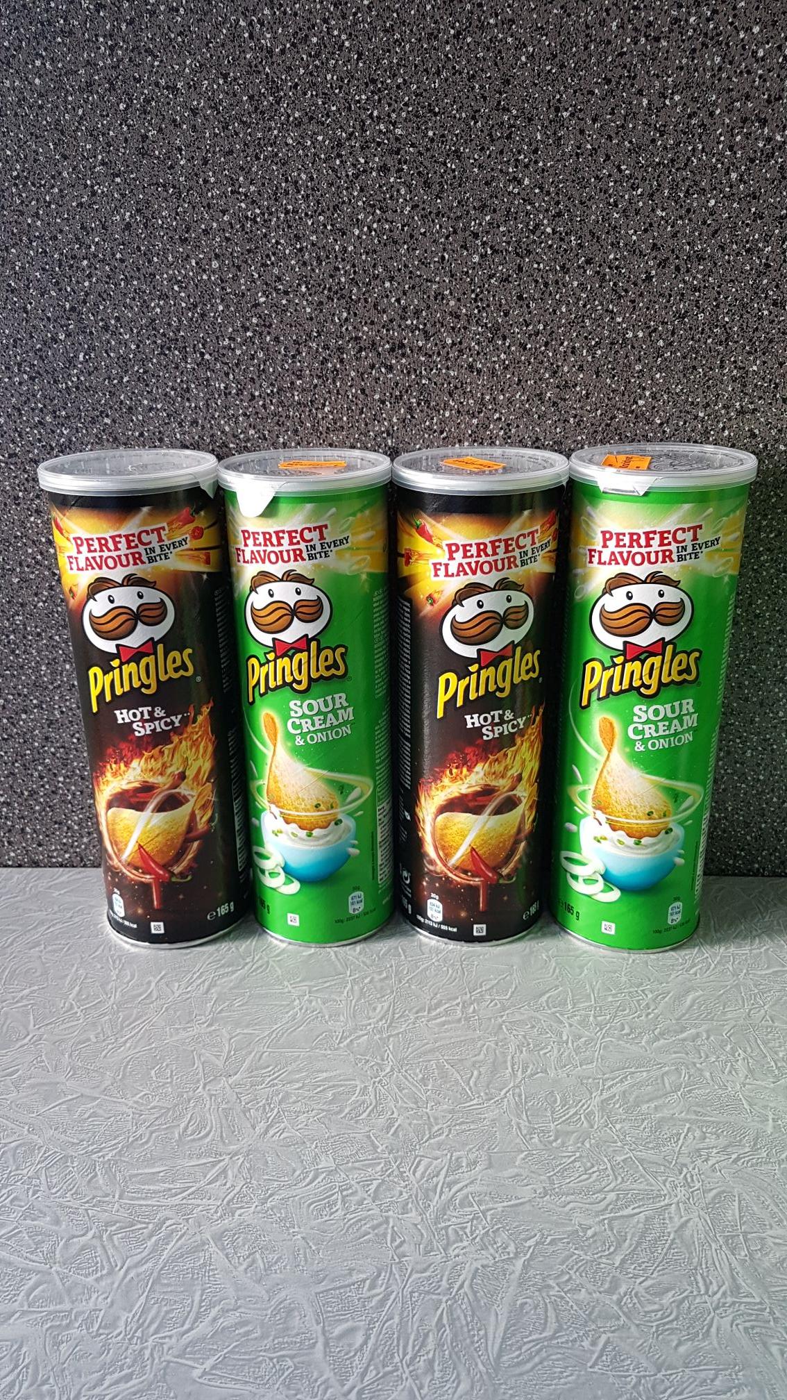 Pringles 2 bussen voor 1.09 1+1 aktie bij de Kruidvat