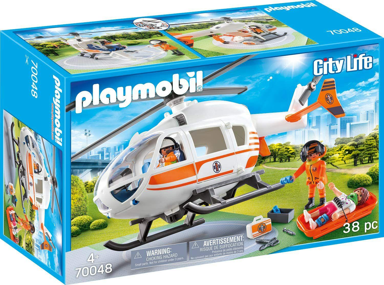 Playmobil City Life 70048 Reddingshelikopter