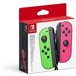 Nintendo Switch Joy Con Groen/Roze