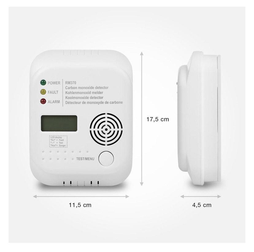 Smartwares RM370 Koolmonoxidemelder