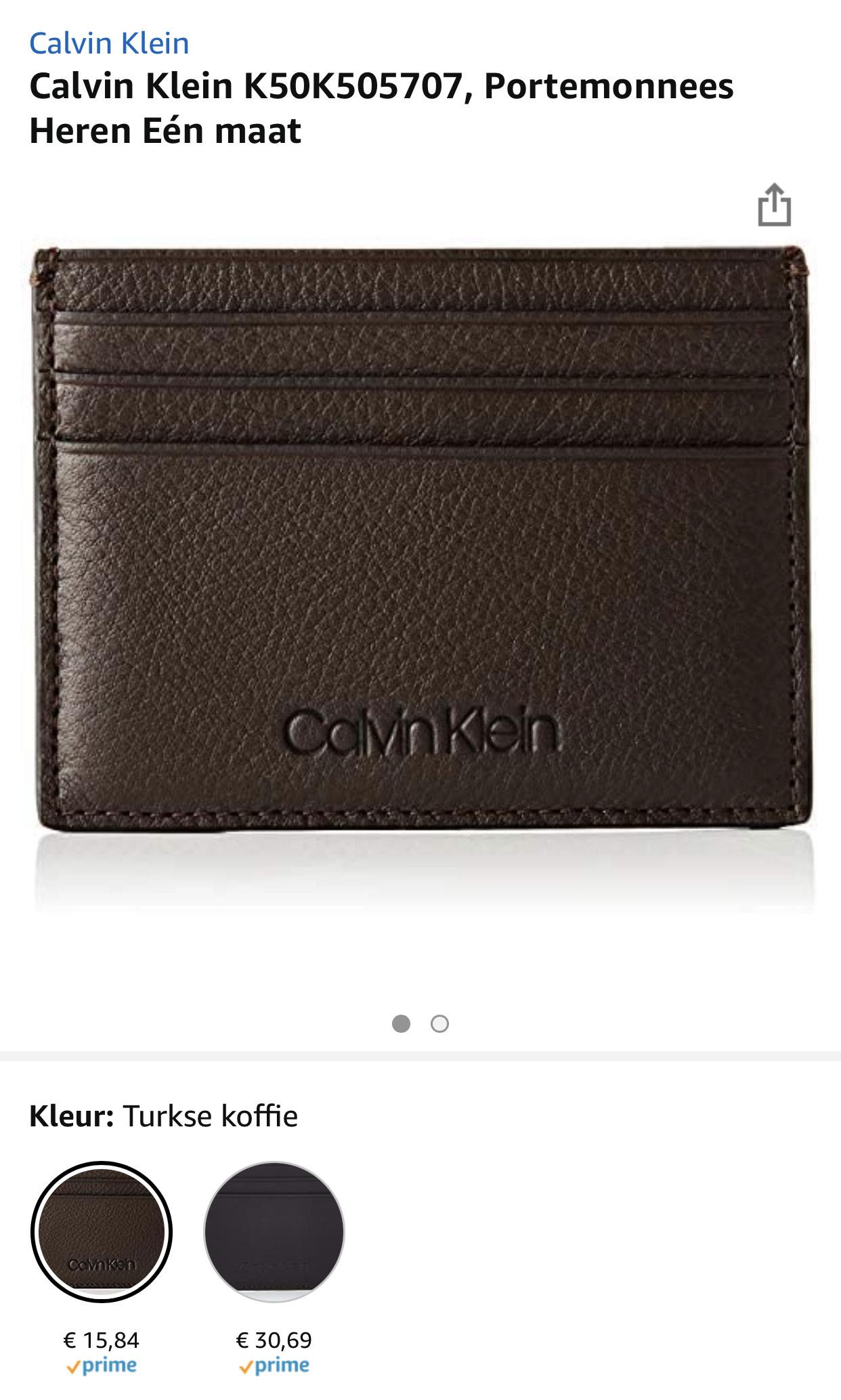 Calvin Klein Pasjeshouder vanaf €15,84