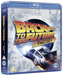 Back to the Future Blu-Ray trilogy