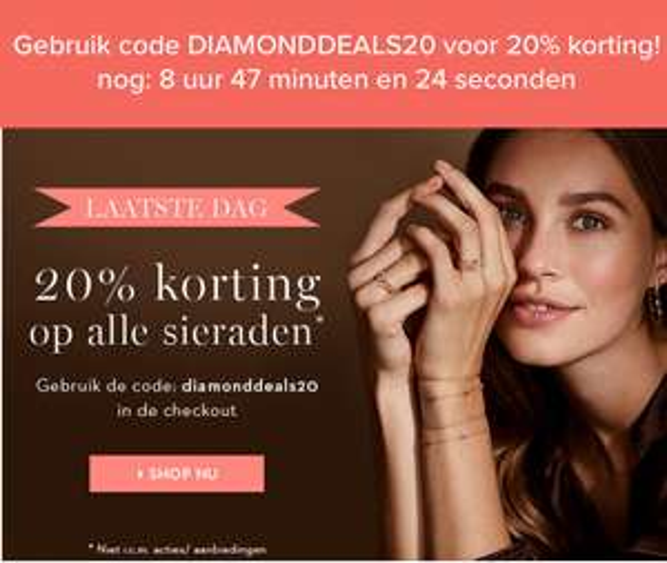 20% korting bij Diamondpoint.net