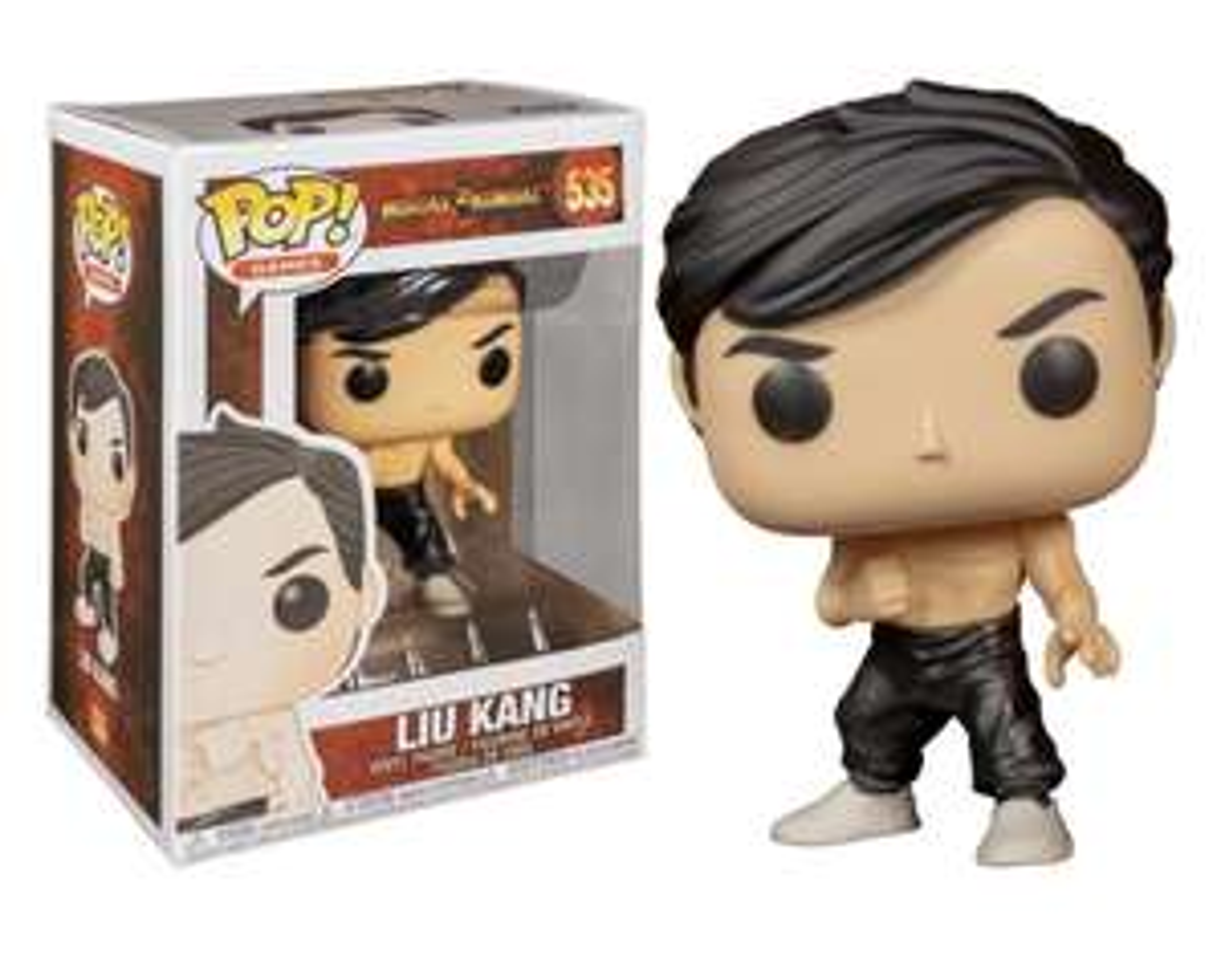 Funko Pop! Games Mortal Kombat - Liu Kang @ Amazon.nl