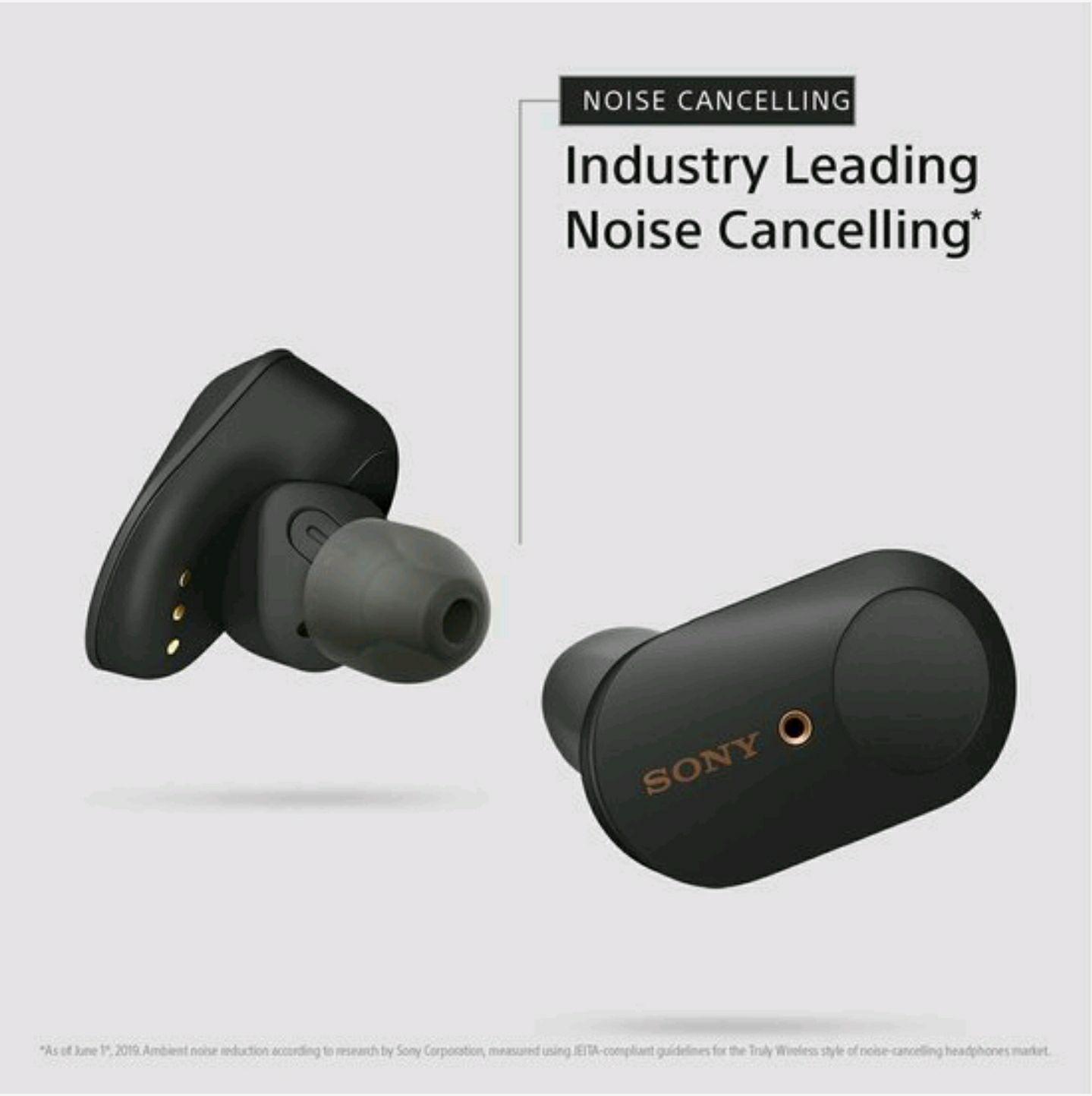Sony WF1000XM3 noice canceling headphones