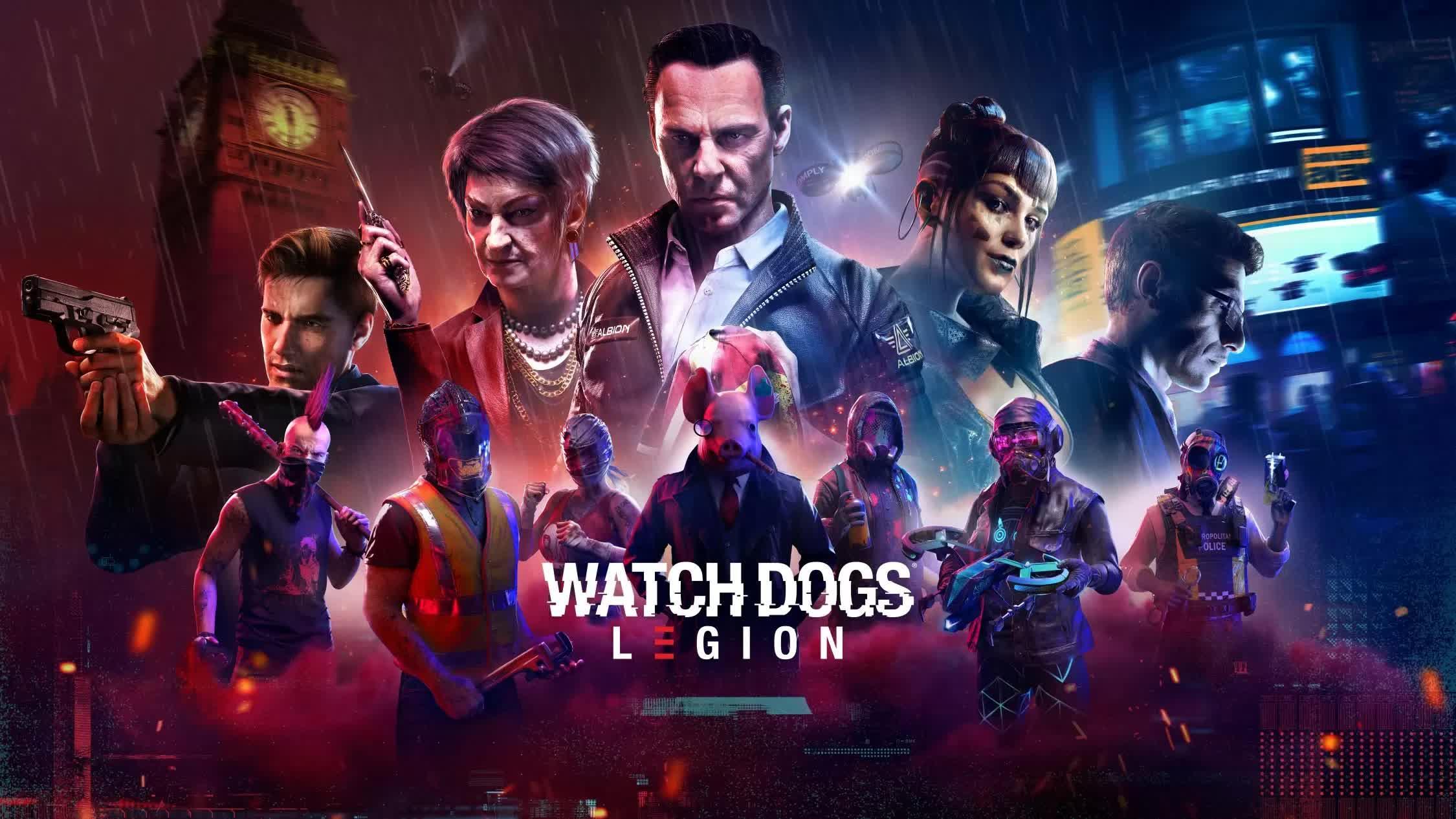 Gratis Watch Dogs: Legion - Rubius Operator DLC