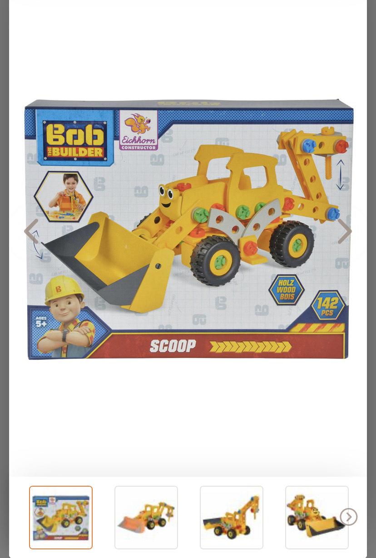 Simba Bob De Bouwer Constructor Scoop