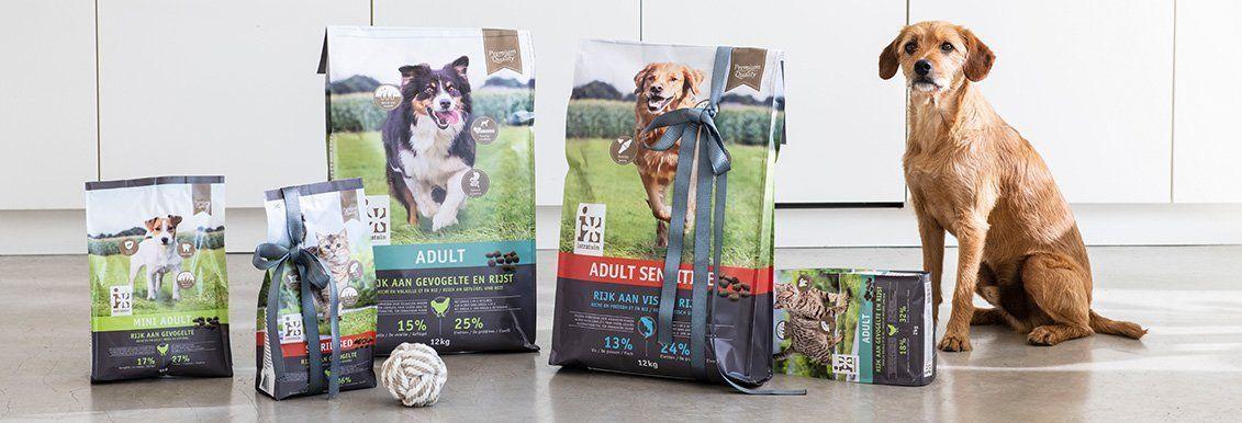 Gratis 2 kilo kitten voer of puppy voer @Intratuin