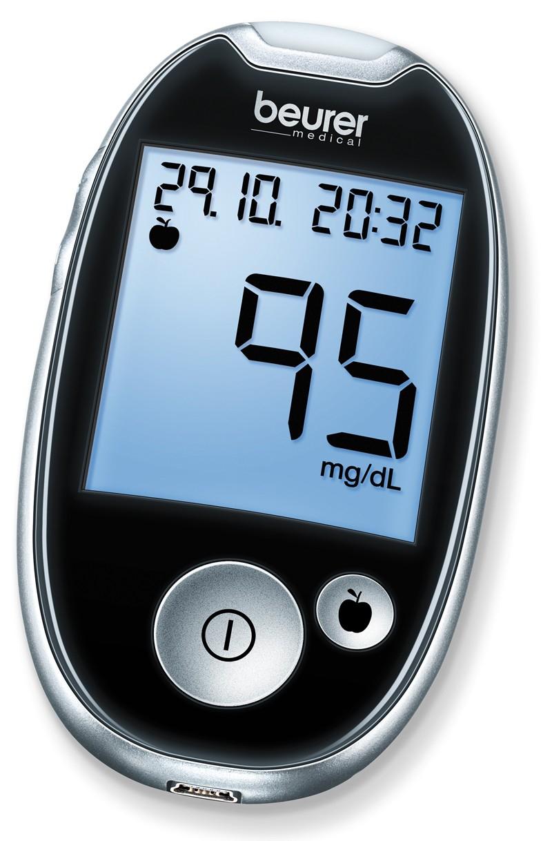Beurer GL 44 mg/dl Glucose meter voor €14,95 (+verzendkosten €4,50)