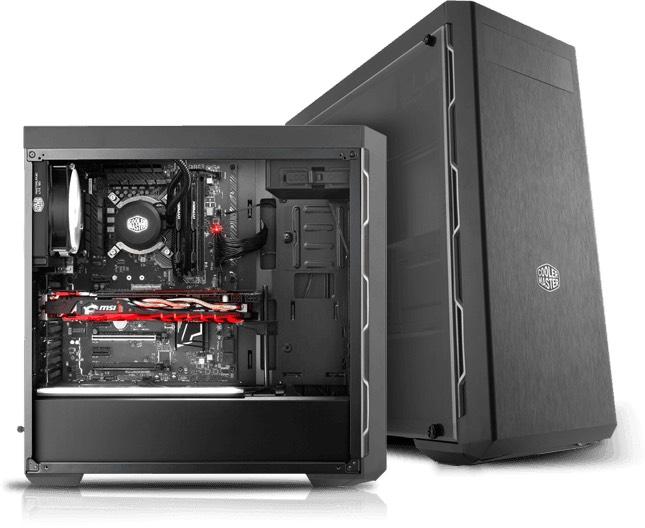 Cooler Master MasterBox MB600L voor €45,51 bij Max ICT