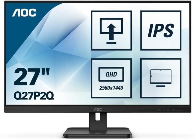 "AOC Q27P2Q 27""QHD IPS Monitor @ Dustinhome"