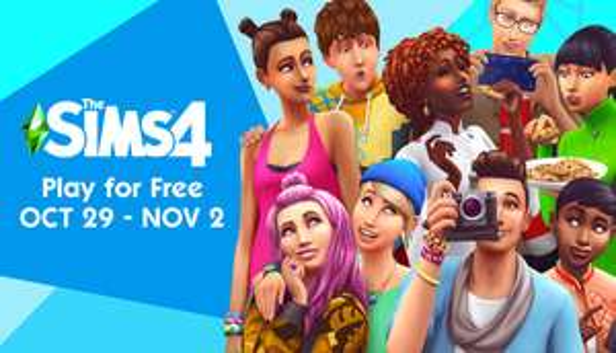 Speel dit weekend gratis Sims 4 @Steam