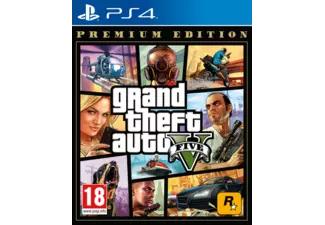 GTA V Premium Edition PS4 spel