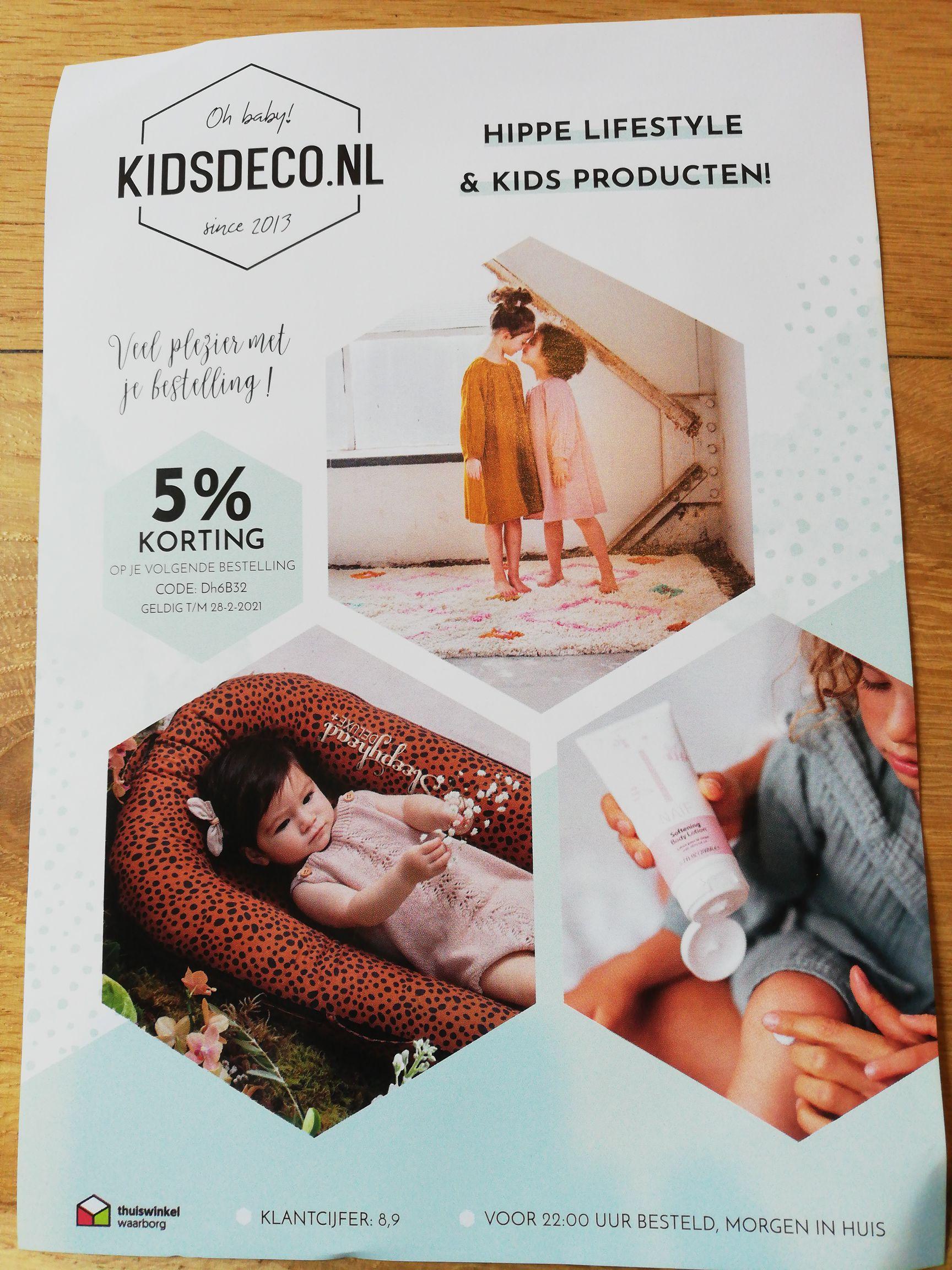5% korting kidsdeco.nl
