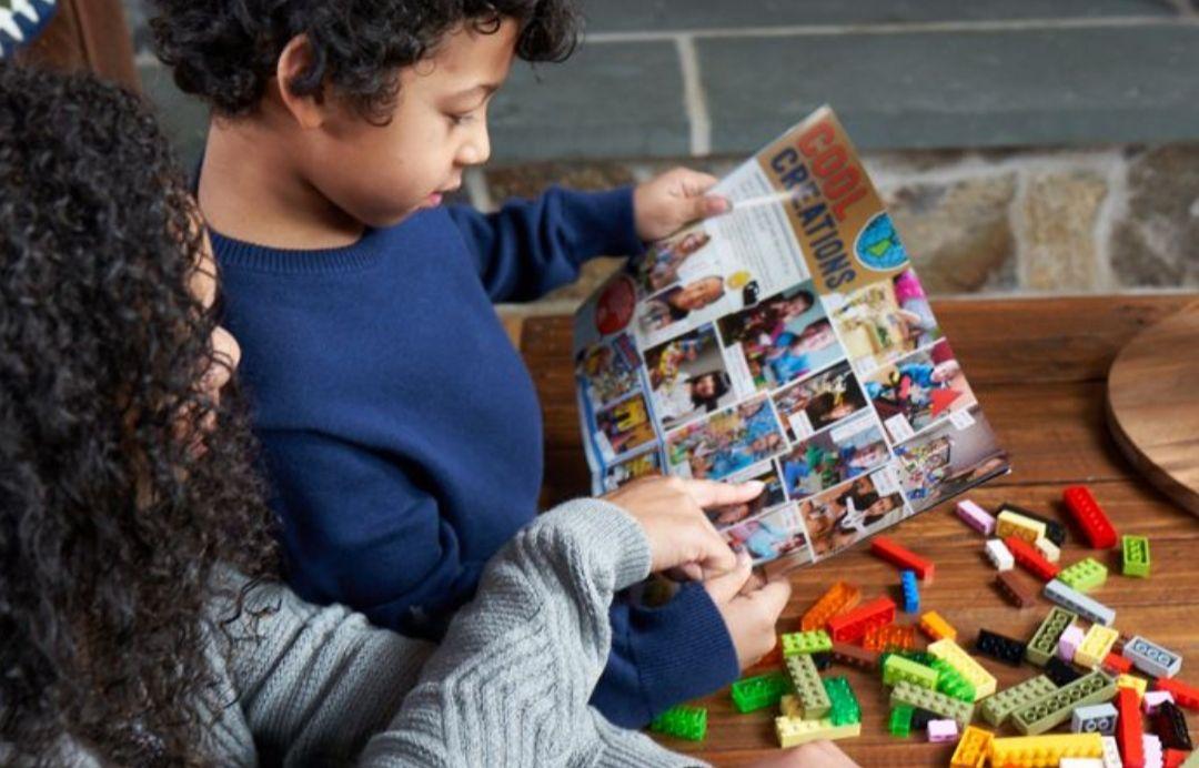 4x gratis LEGO life (kids) magazine!