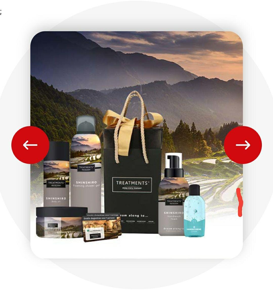 TREATMENTS Giftbox incl. dagje wellness