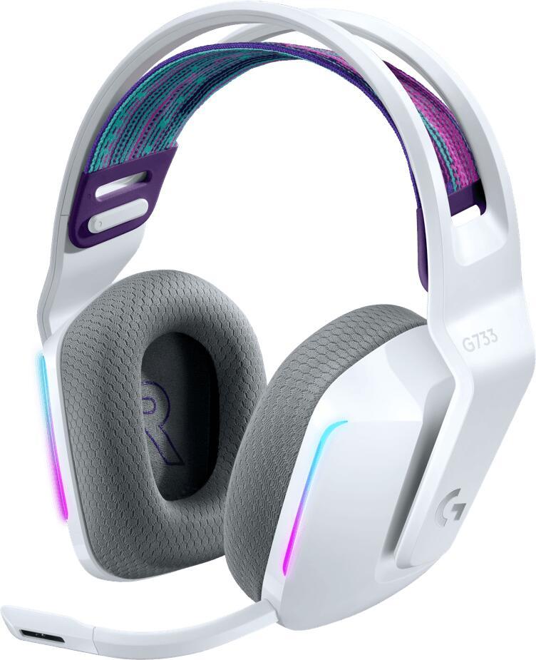 (Amazon.nl) Logitech G733 LIGHTSPEED Wireless Gaming Headset met verende hoofdband