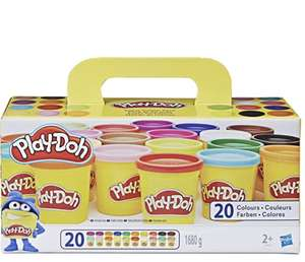 [Amazon] Leuke Play-Doh Colour Pack. Pak met 20 stuks