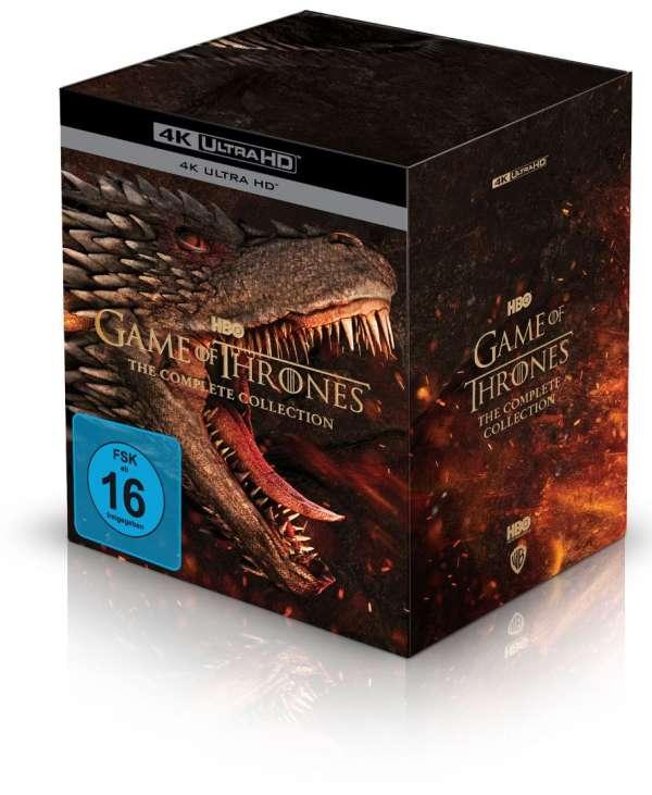 Game of Thrones 4K boxset