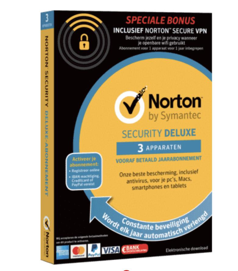 Norton Security Deluxe 3.0 + Norton WiFi Privacy