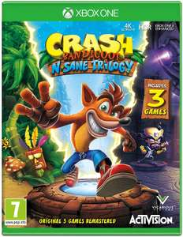 [Xbox One] Crash Bandicoot NSane Trilogy