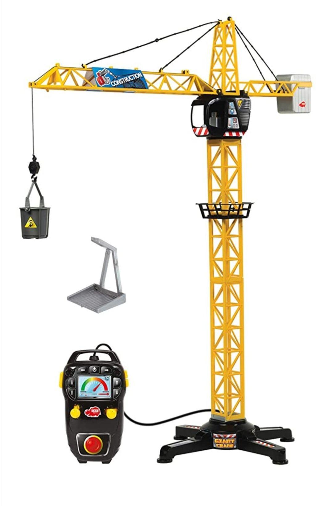 Dickie Toys Giant Crane *1Meter hoog* Amazon & Bol