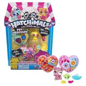 Hatchimals CollEGGtibles Pet Obsessed Multi 3 Pack
