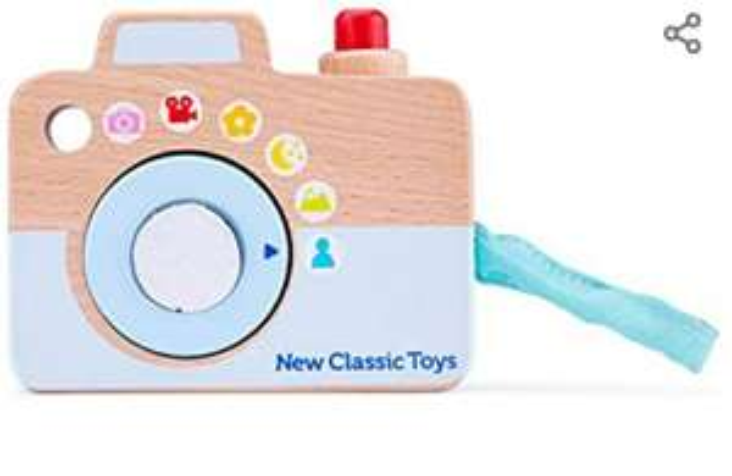 New Classic Toys - Houten Camera