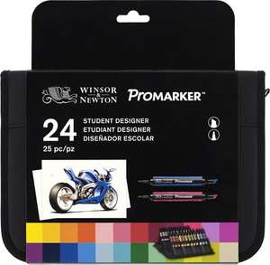 Winsor & newton promarker student 24