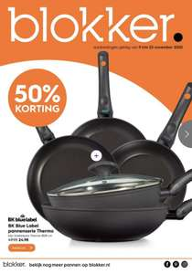 50% korting op Bk Thermo Induction+