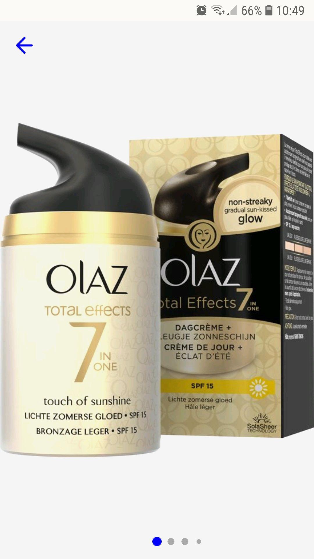 Olaz zelf bruiner dagcrème met spf12 50ml