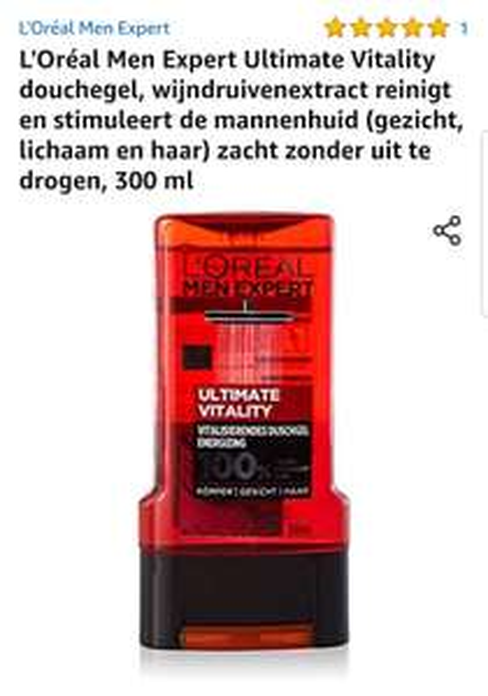 L'Oréal Men Expert Ultimate Vitality douchegel