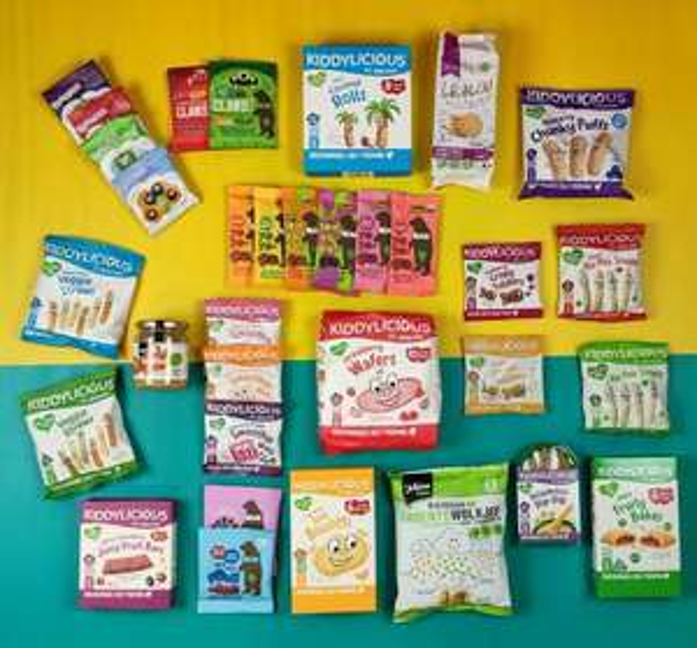 Nommies Large box baby/ kinder snacks ( gratis verzenden mogelijk)