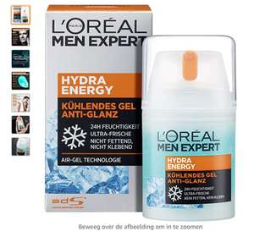 L'Oréal Men Expert Hydra Energy Anti-Glans Gezichtscrème