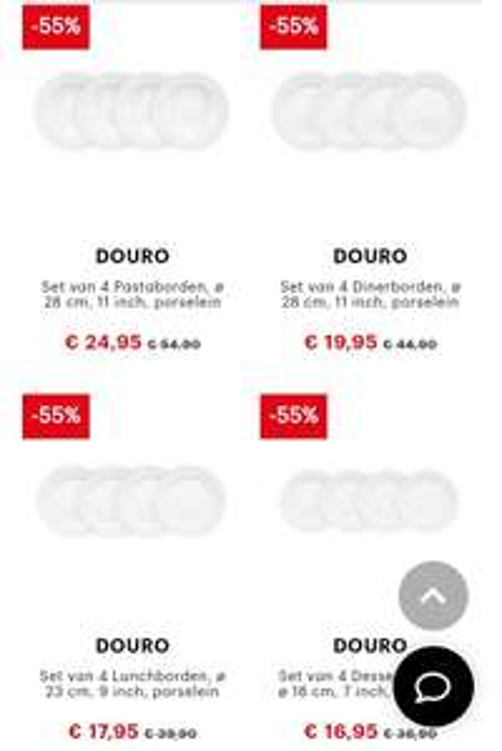 Bodum Douro 20-delig serviesset (4pers)