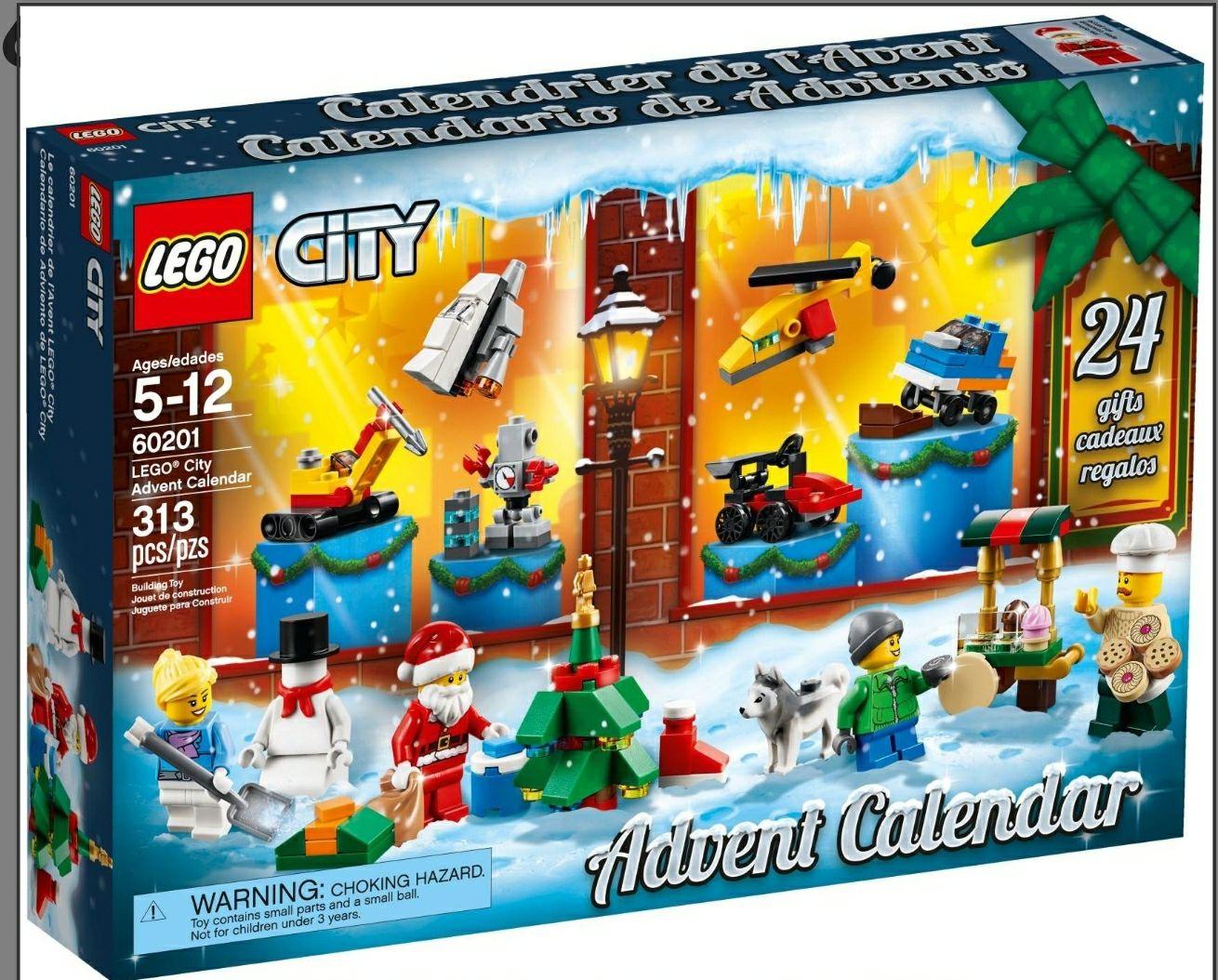 LEGO City Adventkalender 2018 (60201)
