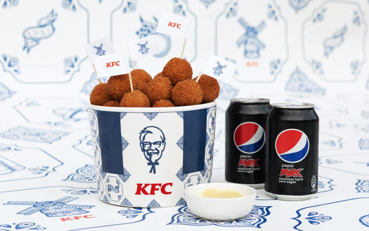 Gratis KFC spicy Zinger Bitterballen