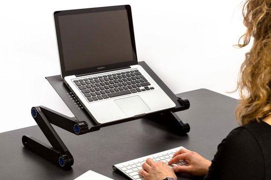 Deluxa Verstelbare Laptoptafel @ DIRK