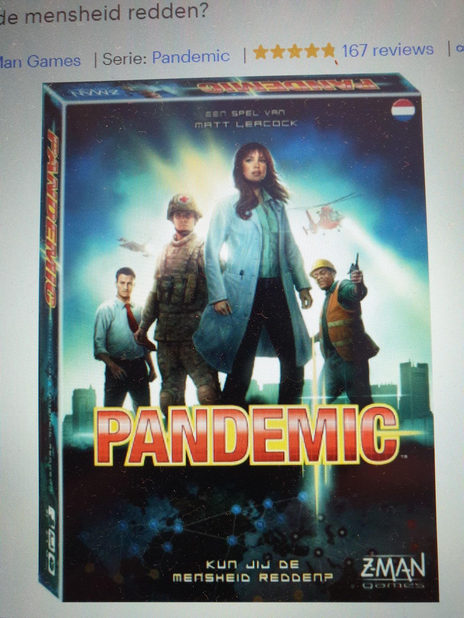 Pandemic (NL) bordspel