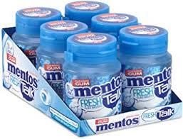 Mentos gum pure freshmint ( gratis verzending met prime :) 6 potten - 30 stuks