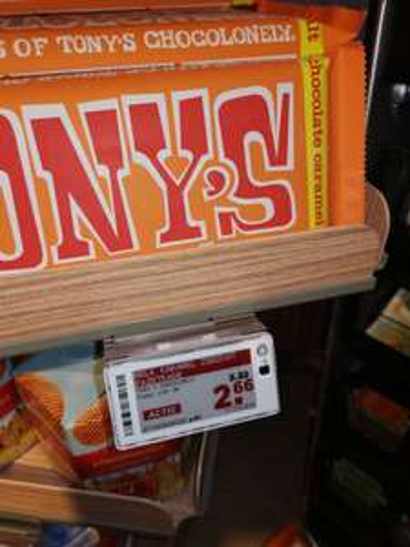 Extra grote reep Tony Chocolonely (300 gram) @Plus Laren