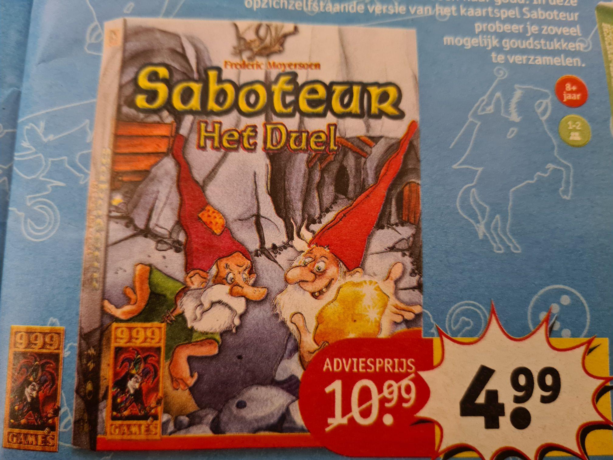 Saboteur, Het Duel voor €4,99 bij Kruidvat (17-11)