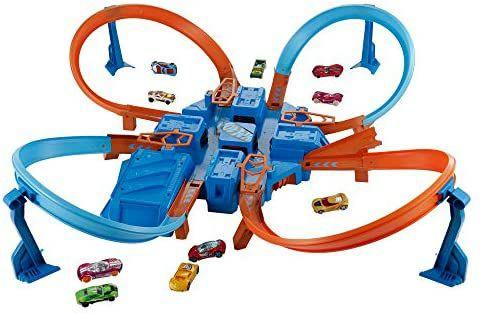 Hot Wheels DTN42 Action - Criss Cross Crash Speelse