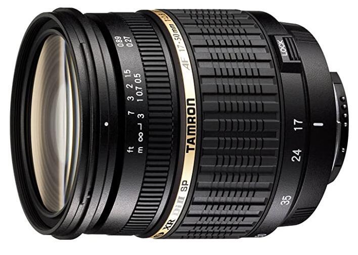Lichtsterk Tamron objectief voor Canon 17-50 F2,8 Bij Amazon NL