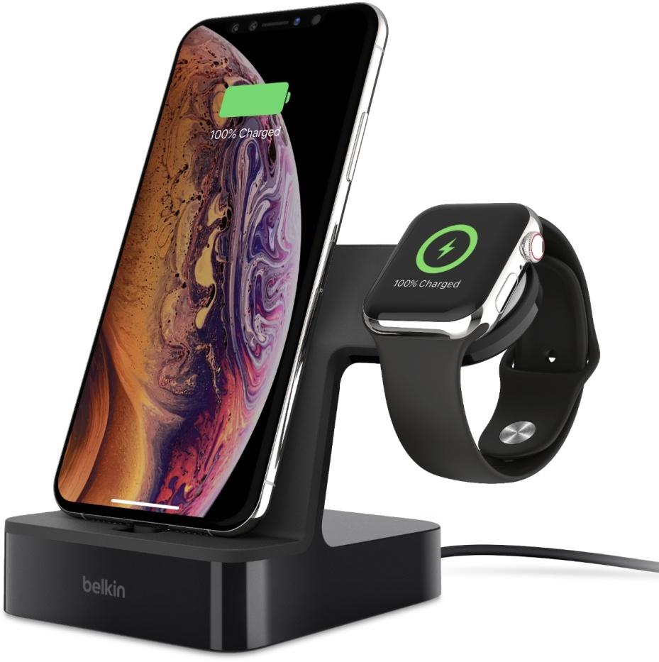 Belkin PowerHouse Charge Dock voor iPhone en Apple Watch - zwart @Amazon.nl