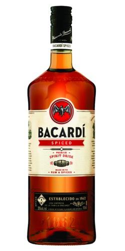 Bacardi spiced 1.5 liter