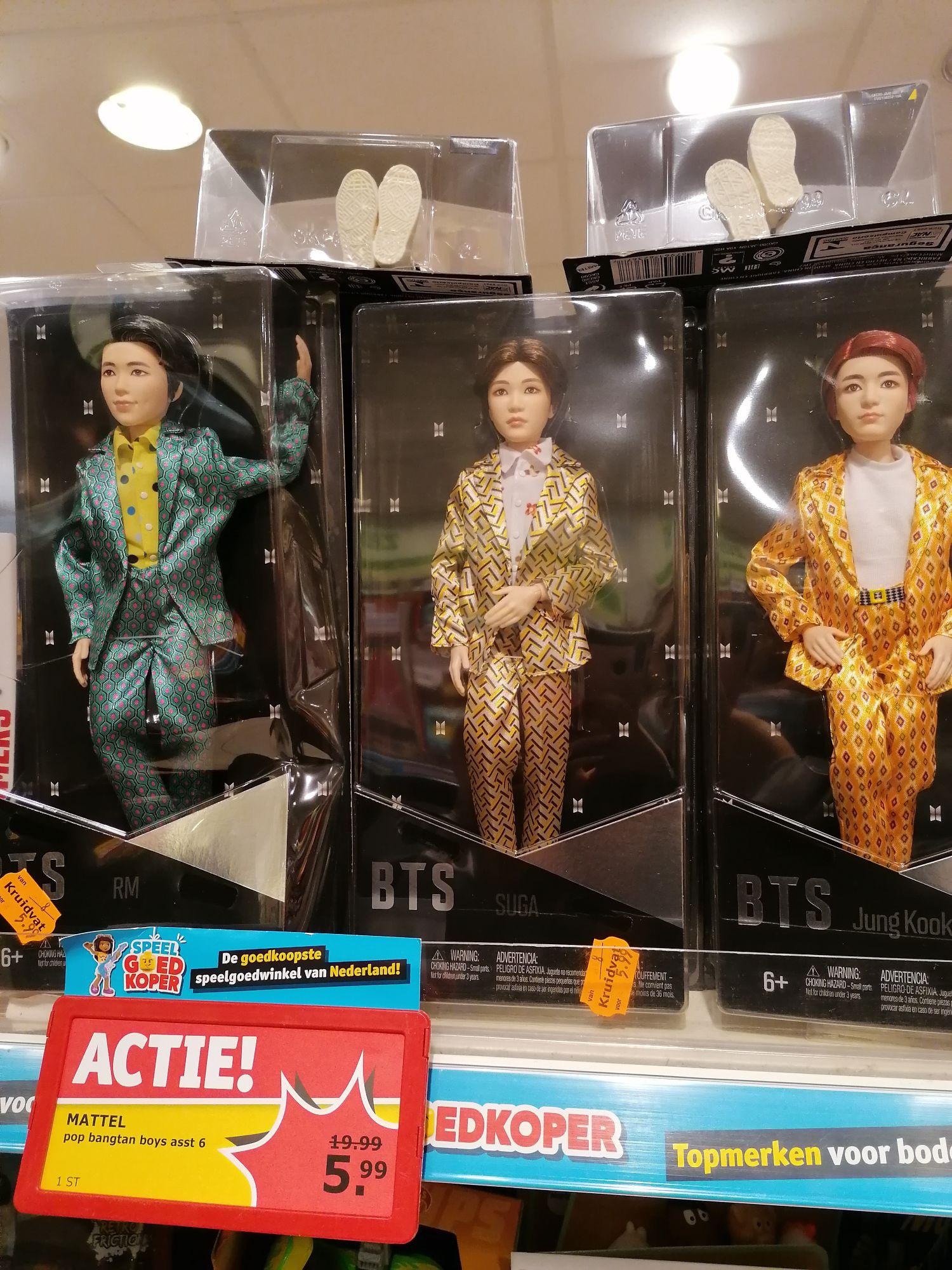 BTS pop (MATTEL) 5.99 bij kruidvat