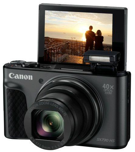 DAGDEAL Mediamarkt CANON PowerShot SX730 HS Zwart